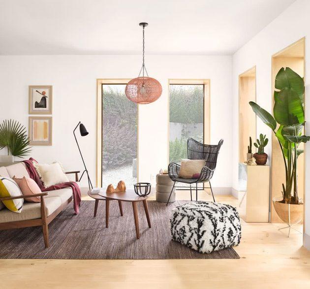 A Scandicraft-style Living Room Decor