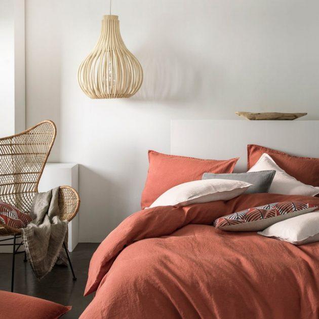 Terracotta in the Bedroom