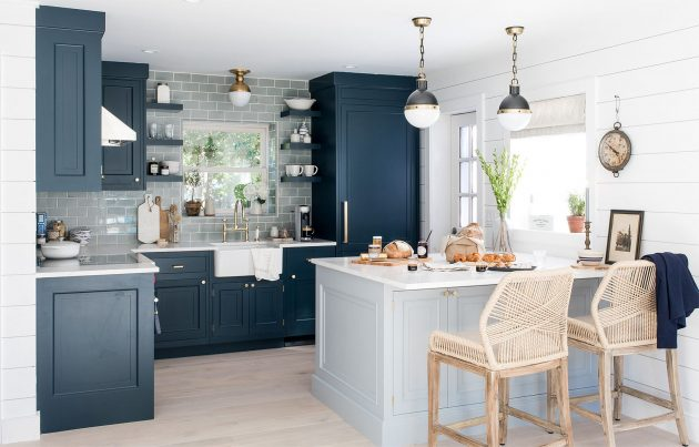 A Seaside Decoration in the Kitchen