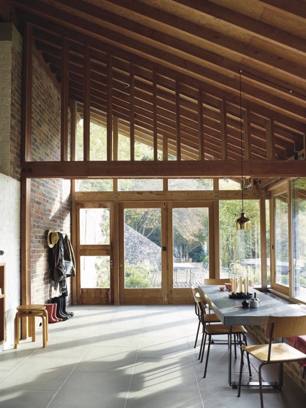 Ansty Plum House + Studio by Coppin Dockray in the United Kingdom