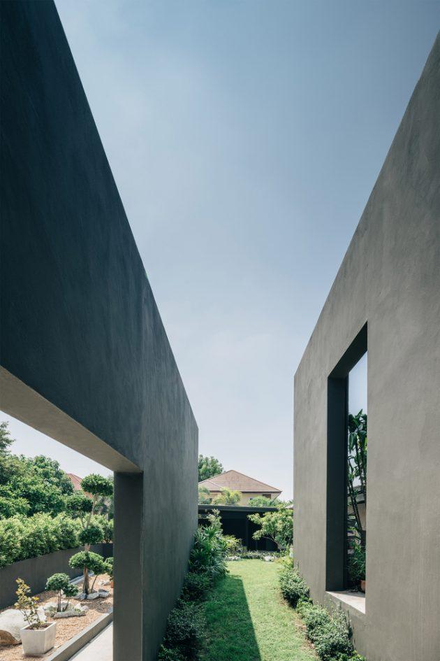 Chonburi Sila House by Anghin Architecture in Chonburi, Thailand