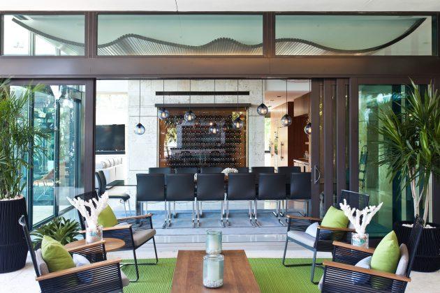 Coral Gables Residence by Touzet Studio in Miami, Florida