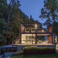 Lantern Studio by Flavin Architects in Wellesley, Massachusetts