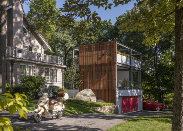 Lantern Studio by Flavin Architects in Wellesley, Massachusetts