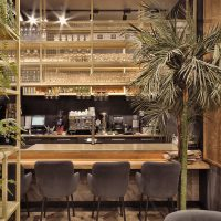 Lao Bao – Beatufiul Design of a Pan-Asian Cafe by ALLARTSDESIGN in Russia