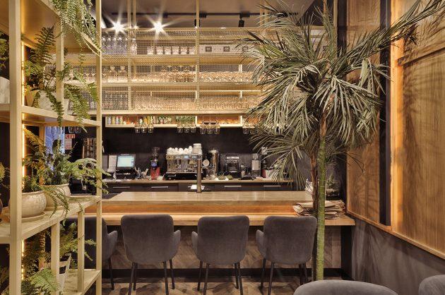 Lao Bao - Beatufiul Design of a Pan-Asian Cafe by ALLARTSDESIGN in Russia