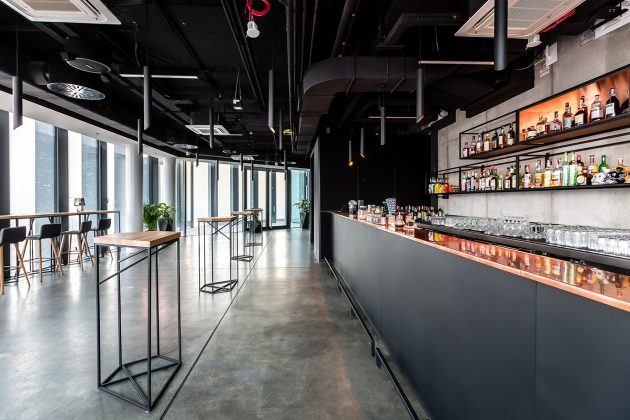 MUS Restaurant & Bar by Easst Architects in Poznan, Poland