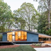 Ocotea House Renovation by in situ studio in Raleigh, North Carolina