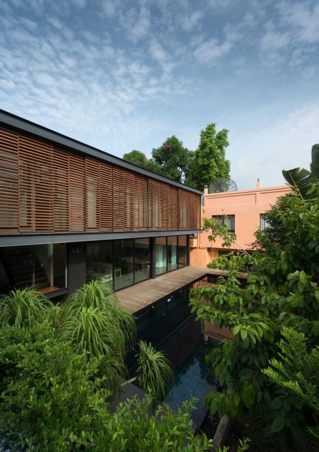 U38 House by OfficeAT in Bangkok, Thailand