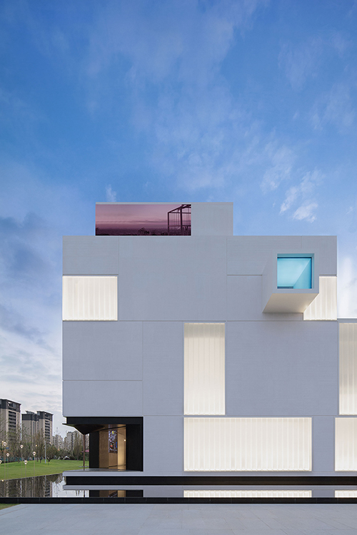 White Square designed by Jaco Pan in Nanjing, China