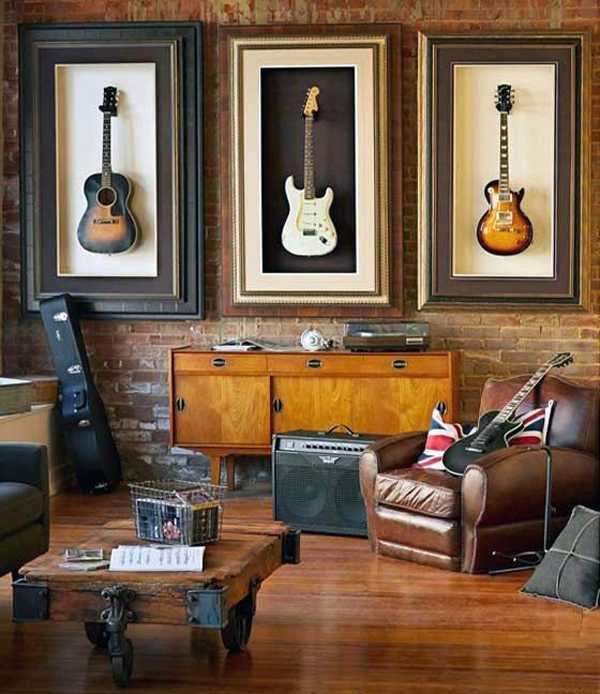 A Rock Atmosphere in the Living Room