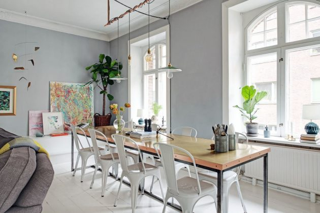 Renovation of Solid Wood Flooring With Paint