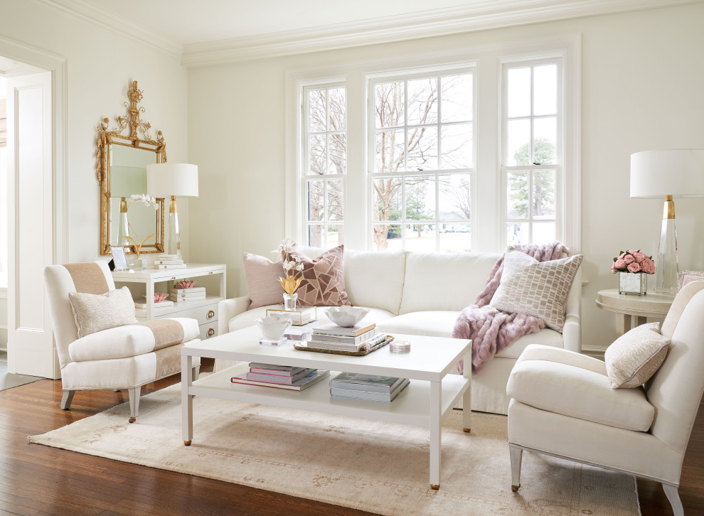 15 Beautiful Shabby-Chic Living Room Designs That Pop