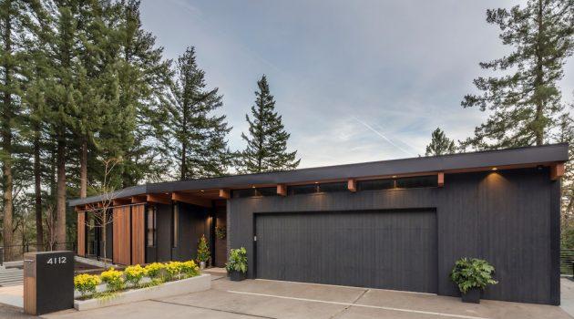 15 Impressive Mid-Century Modern Garage Designs For Your New Home