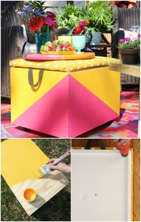 16 Brilliant DIY Patio Furniture Projects You Would Love To Craft