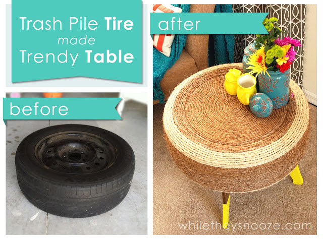 17 Interesting DIY Tire Project Ideas For Your Garden