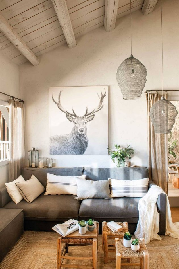 How to Go From a Bland Country House to a Magazine House