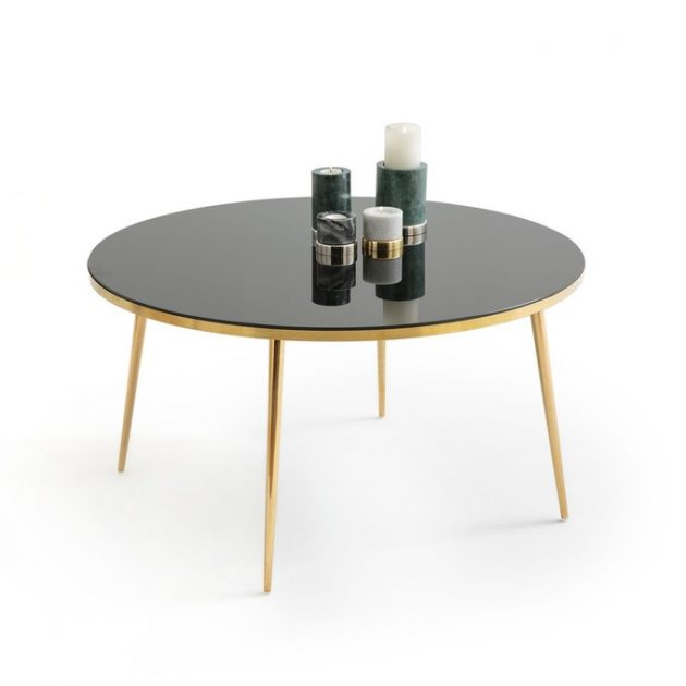 Coffee Tables with a Golden Base