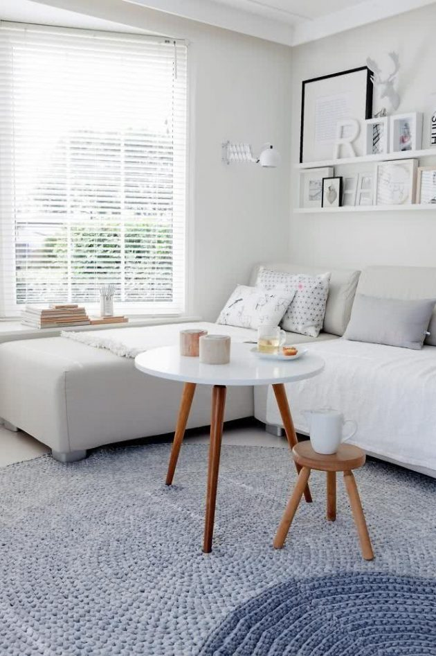 Decoration with Coffee Table and Side Tables