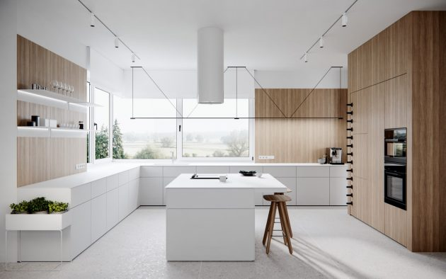 9 Incredible Ideas for Inspiration of L-shaped Kitchens