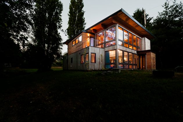 Musician's House by Coates Design Seattle Architects in Washington, USA