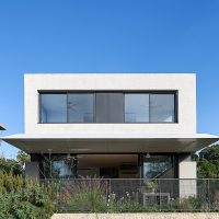 N.Z House No.1 by Daniel Arev Architecture in Ness Ziona, Israel