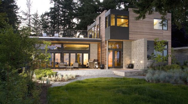 Platinum House by Coates Design Seattle Architects in Washington, USA