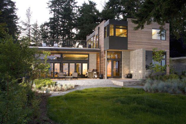 Platinum House by Coates Design Seattle Architects in Washington, USA