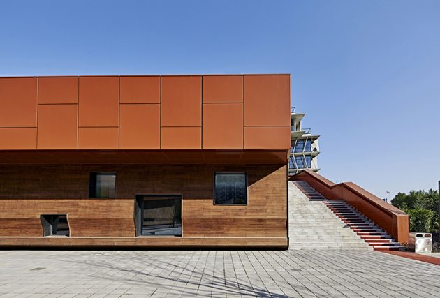 Pukou Community Center by BAU (Brearley Architects + Urbanists) in Nanjing, China