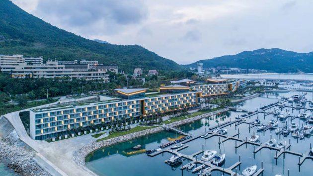 SAOTA designs the Longcheer Yacht Club in Shenzhen, China
