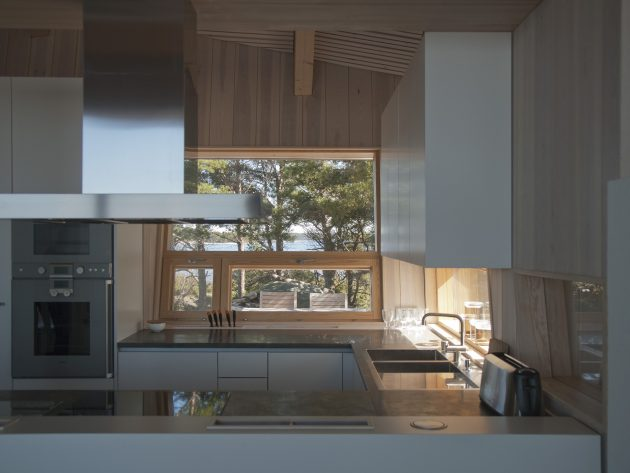 Villa Krona by Helin & Co Architects on the Kemio Island in Finland