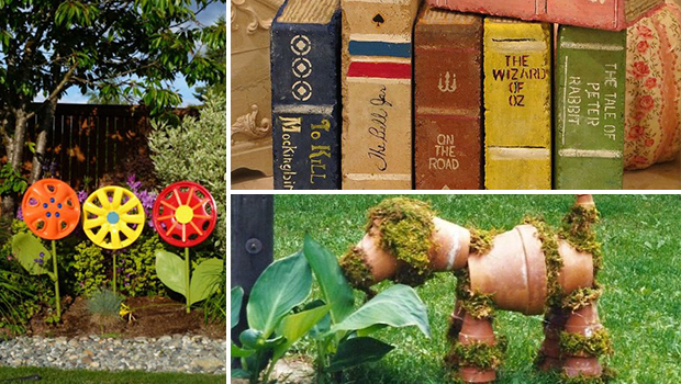 15 Delightful DIY Garden Art Projects You Are Going To Enjoy Crafting