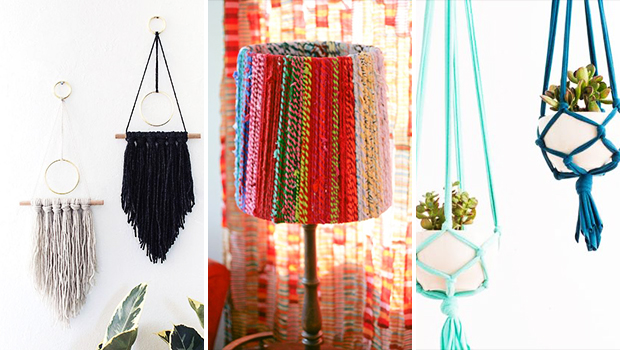 15 Outstanding DIY Boho Decor Projects For Your Shabby-Chic Home