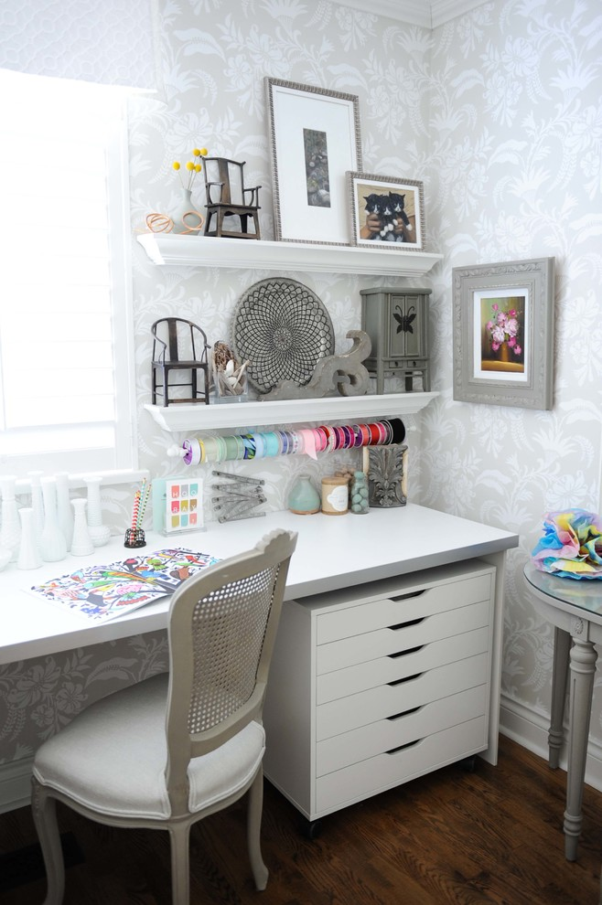 15 Wonderful Shabby Chic Home Office Designs For Everyday Use