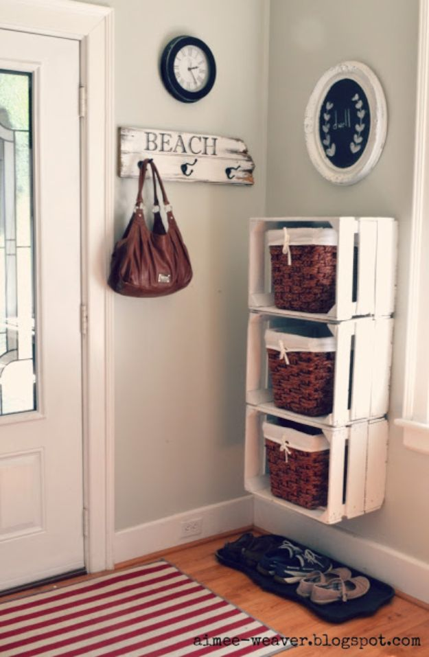 16 Genius DIY Home Decor Ideas You Can Make From Old Wooden Crates