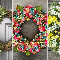 20 Refreshing Summer Wreath Designs Your Front Door Needs Right Now