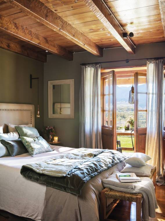 6 Green Bedrooms That Invite You to Relax