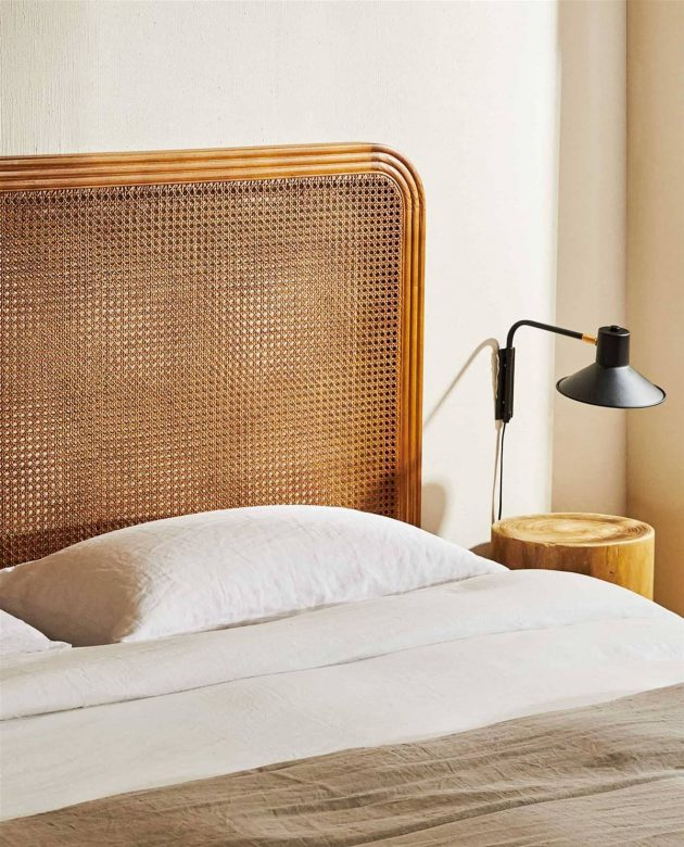Stylish Natural Fiber Headboards to Dress Up Your Bedroom