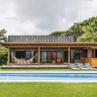 Bamboo House by Vilela Florez in Pipa Beach, Brazil