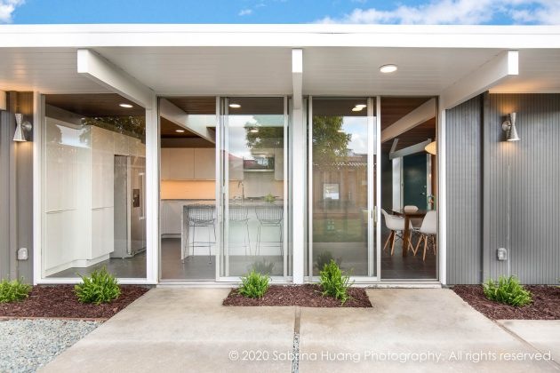 Foster City Affordable Eichler Remodel by Klopf Architecture