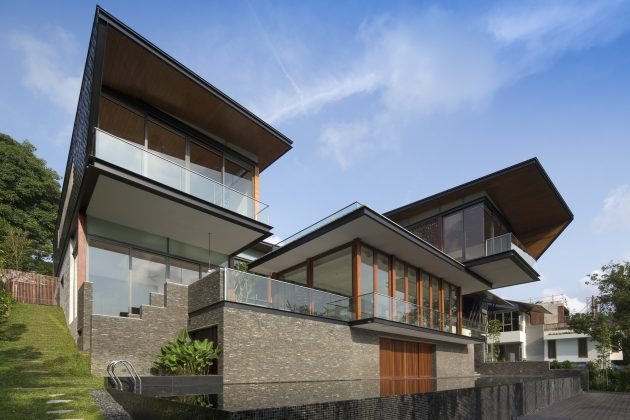 Hillside House by AR43 Architects in Singapore