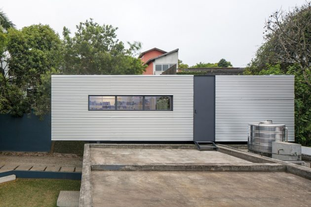 LP House by Metro Arquitetos Associados in Sao Paulo, Brazil