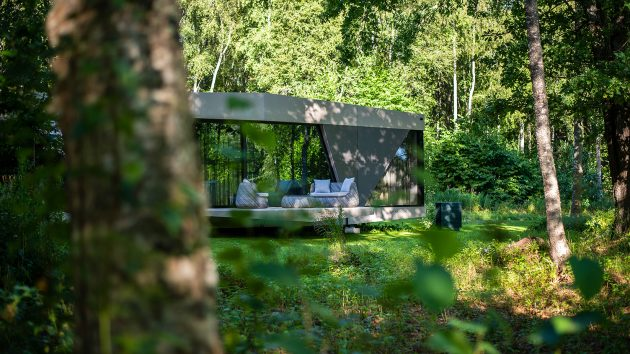 The SPACE by iOhouse - Fully Off-Grid Modern Living Space