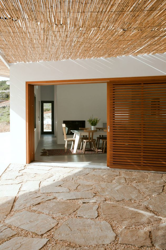 X House by Paan Architects on the Greek Island of Antiparos