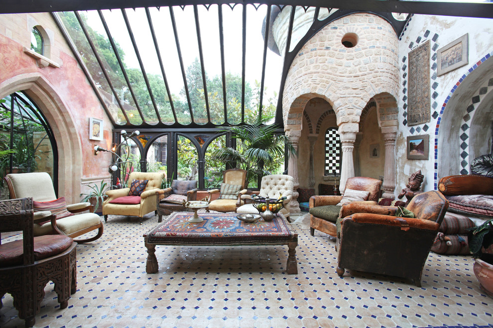 15 Outstanding Mediterranean Sunroom Designs You Will Go Crazy For