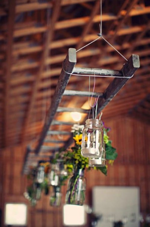 15 Stunning DIY Ladder Decor Projects You Must Try