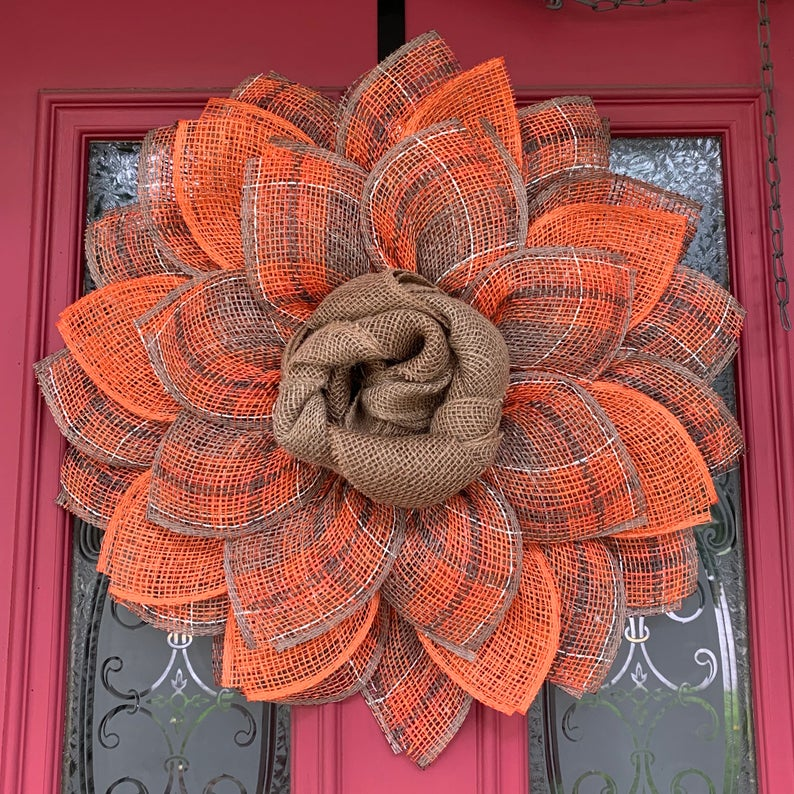 16 Impressive Autumn Wreath Designs That Will Beautify Your Front Door
