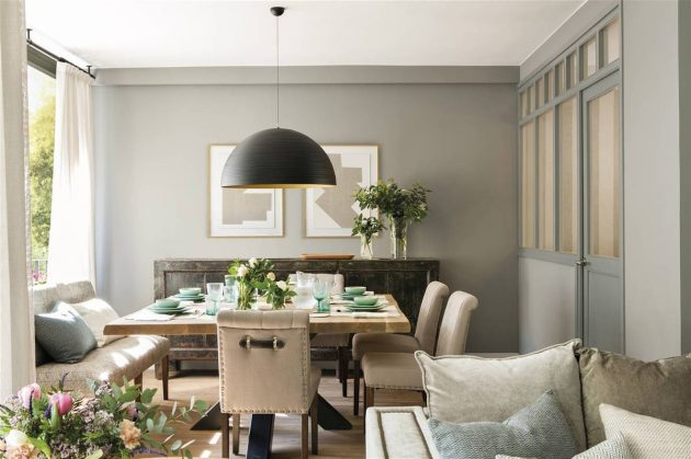 A Floor That Shows Why Gray Does Not Fail to Decorate