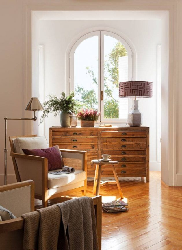 Rooms With Wooden Furniture