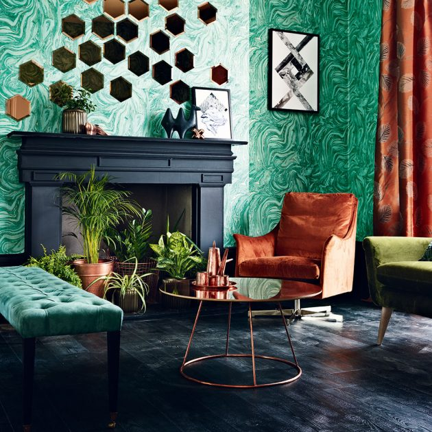 Green in the Living Room